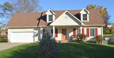 Clarksville Single Family Home Under Contract - Showing: 1567 Barrett Drive