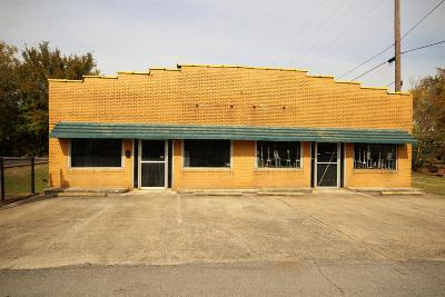 Adams, Clarksville, Springfield, Dover Commercial For Sale: 111 9th Ave W