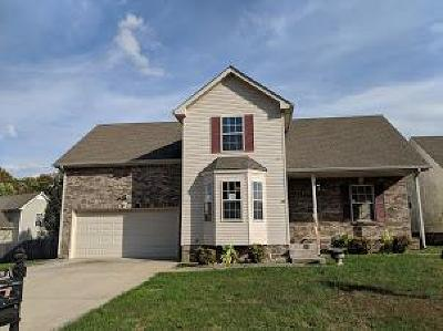 Clarksville Single Family Home Under Contract - Showing: 2648 Cider Dr