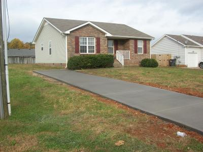 Christian County, Ky, Todd County, Ky, Montgomery County Single Family Home Under Contract - Showing: 1322 Burchett Dr