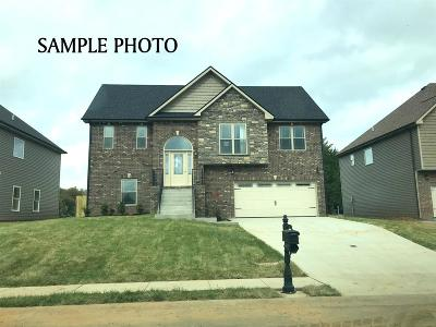 Clarksville Single Family Home For Sale: 750 Autumnwood Farms