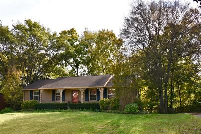 Nashville Single Family Home For Sale: 215 Wauford Dr