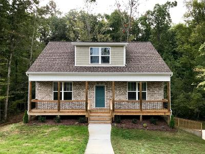 Dickson Single Family Home Under Contract - Not Showing: 123 Iron Gate Ln Lot 43
