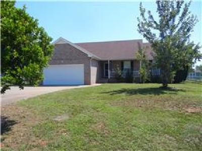 Clarksville Single Family Home Under Contract - Not Showing: 784 Gardendale Ln