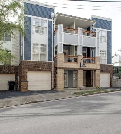 Nashville Condo/Townhouse For Sale: 915 9th Ave N