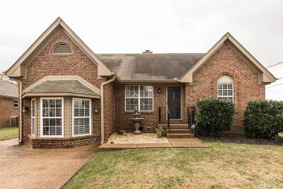 Hendersonville Single Family Home Under Contract - Not Showing: 118 Cloverfield Ct