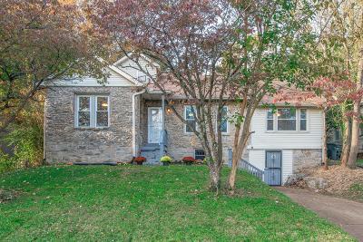 Nashville Single Family Home For Sale: 1523 McGavock Pike