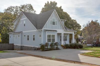 Nashville Single Family Home Under Contract - Showing: 1946 A Porter Rd