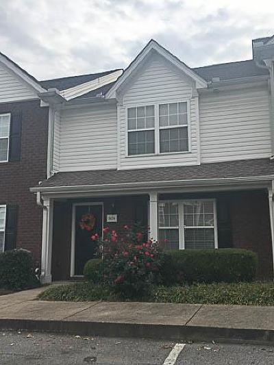 Lavergne Condo/Townhouse Under Contract - Not Showing: 3024 George Buchanan Dr