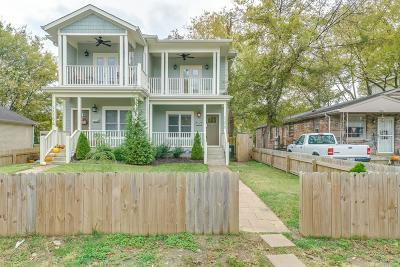 Nashville Condo/Townhouse For Sale: 1829 B 16th Ave N