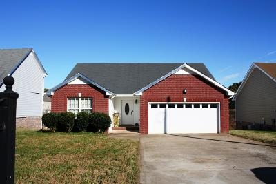 Clarksville Single Family Home For Sale: 1549 Tylertown Rd