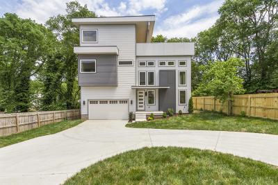 Nashville Single Family Home For Sale: 2816 B W Kirkwood Ave