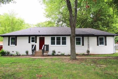 Clarksville Single Family Home Under Contract - Showing: 29 E Bel Air Blvd