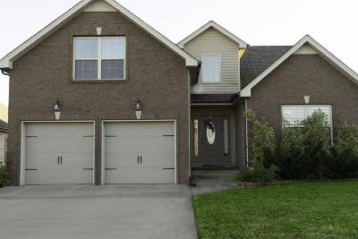 Clarksville Single Family Home Under Contract - Showing: 676 White Face Dr