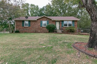 Clarksville Single Family Home For Sale: 1860 Harriet Dr