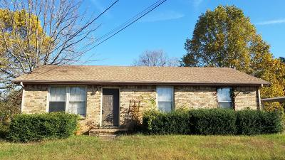 Clarksville Single Family Home For Sale: 105 Bellamy Ct
