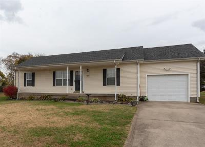 Clarksville Single Family Home Under Contract - Showing: 1017 Waterford Cir