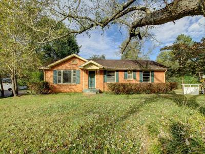 Clarksville Single Family Home Under Contract - Not Showing: 426 Gaylewood Drive