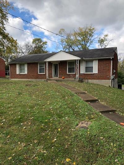 Nashville Single Family Home For Sale: 3064 Jenry Dr