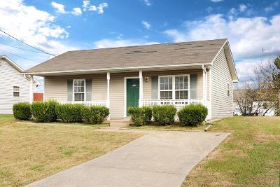 Oak Grove Single Family Home For Sale: 1126 Keith Avenue