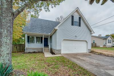 Lavergne Single Family Home Under Contract - Not Showing: 405 Watersedge Ln