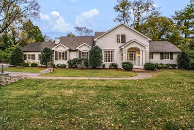 Nashville Single Family Home For Sale: 5034 Franklin Pike