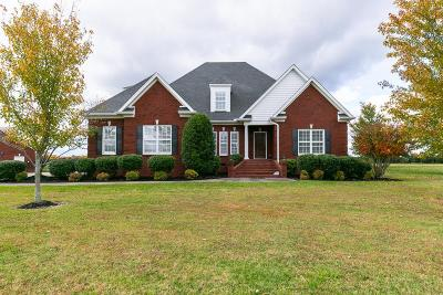 Shelbyville Single Family Home Under Contract - Not Showing: 85 Blackberry Ridge Dr