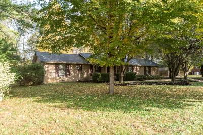 Hendersonville Single Family Home For Sale: 103 Sequoyah Dr