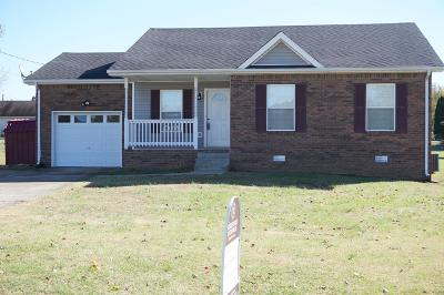 Clarksville Single Family Home For Sale: 1204 Kendall Dr