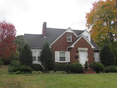 Lawrenceburg Single Family Home For Sale: 900 N 1st Ave