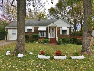 Nashville Single Family Home Under Contract - Showing: 1204 Saturn Dr