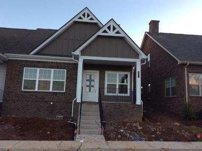 Nolensville Single Family Home For Sale: 617 Weybridge Drive, Lot #84