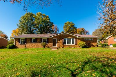 Clarksville Single Family Home Under Contract - Not Showing: 210 Kingswood Dr