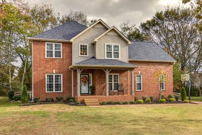 Thompsons Station Single Family Home Under Contract - Not Showing: 2804 Comanche Trl