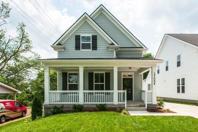 Nashville Single Family Home Under Contract - Showing: 2308 B Brittany Dr