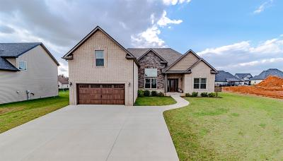 Clarksville Single Family Home Under Contract - Not Showing: 1152 Upland Ter