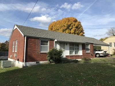 Nashville TN Single Family Home Under Contract - Showing: $160,000
