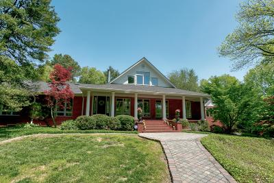 Brentwood Single Family Home For Sale: 1308 Old Hickory Blvd