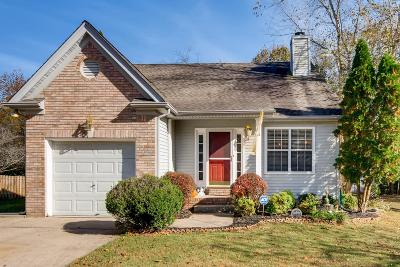 Wilson County Single Family Home Under Contract - Not Showing: 1047 Cedar Creek Village Rd