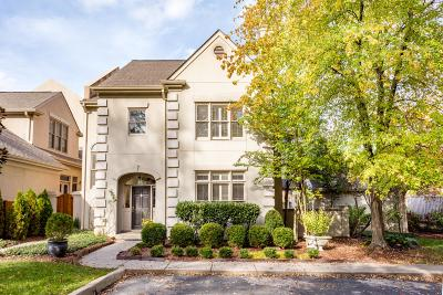 Nashville Single Family Home Under Contract - Showing: 113 Brighton Close