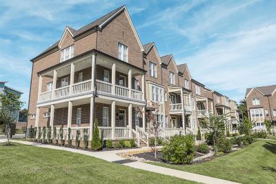 Nashville Condo/Townhouse For Sale: 204 Porter Village Cir