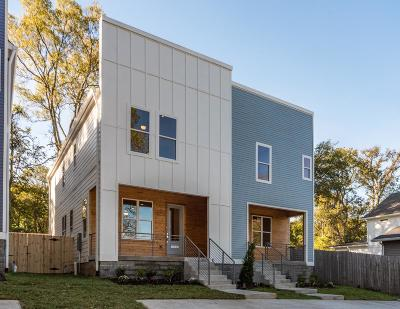 Nashville Single Family Home For Sale: 126 B Kingston Street