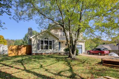 Clarksville Single Family Home For Sale: 468 Bluff Dr