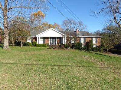 Hendersonville Single Family Home Under Contract - Not Showing: 107 Country Club Dr
