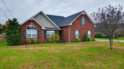 Murfreesboro Single Family Home Under Contract - Not Showing: 914 Nimbus Ln