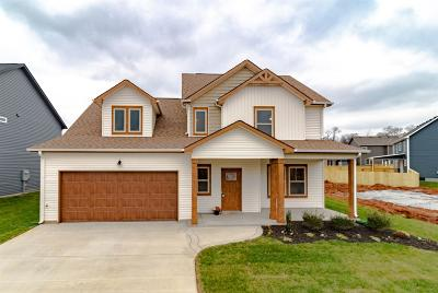 Clarksville Single Family Home Under Contract - Showing: 1139 Eagles Bluff Dr