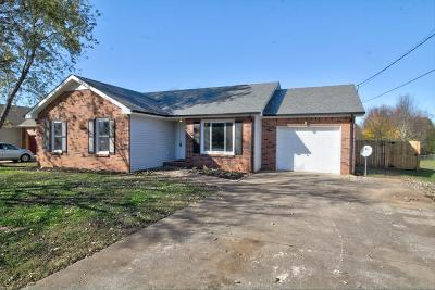 Clarksville Single Family Home Under Contract - Showing: 3705 Misty Way