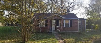 Nashville Single Family Home For Sale: 202 Duke St