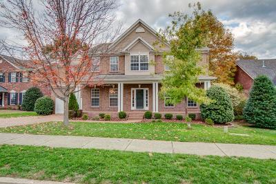 Franklin Single Family Home Under Contract - Not Showing: 1406 Marrimans Ct
