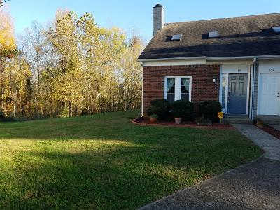 Christian County, Ky, Todd County, Ky, Montgomery County Condo/Townhouse Under Contract - Not Showing: 110 Carriage Pl